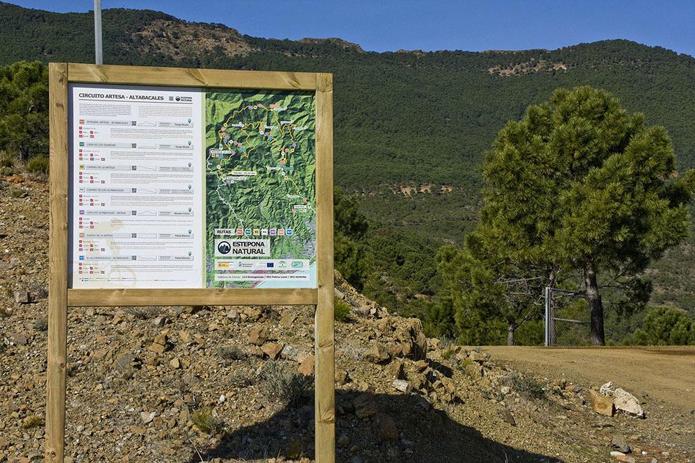 Circuito Artesa-Altabacales. Estepona
