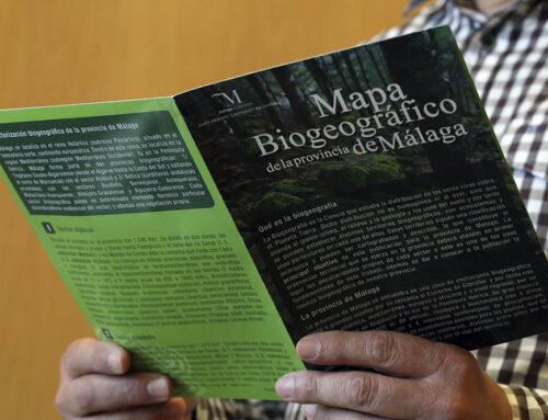 Diputación y UMA editan un mapa biogeográfico de la provincia