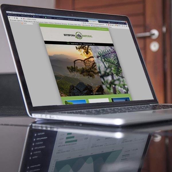 Proyecto web estepona-natural.es
