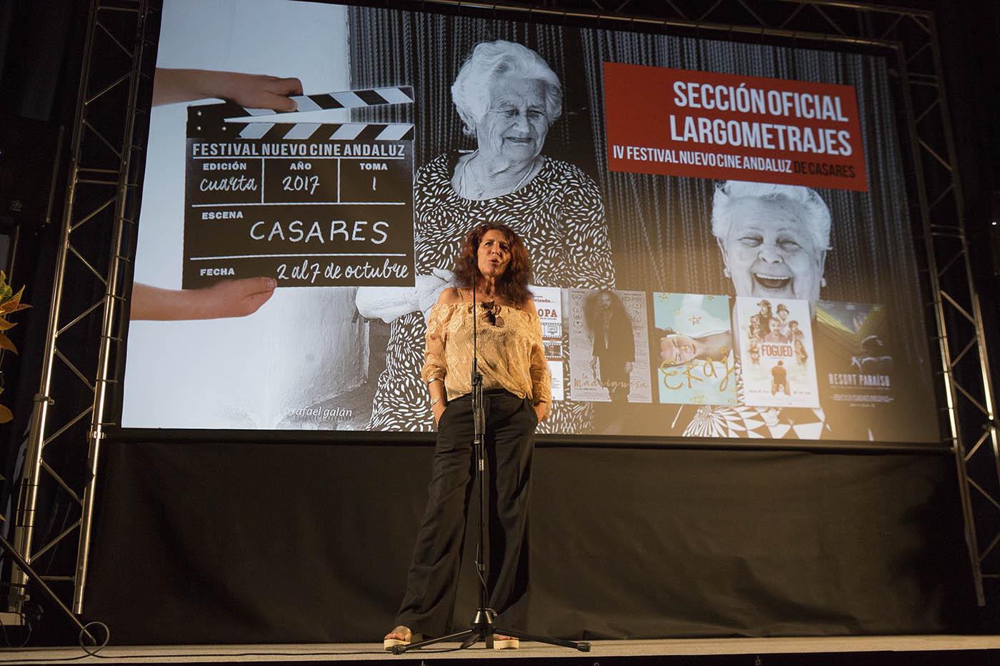 Cati González, premio mejor Dirección IV Festinval Nuevo Cine Andaluz