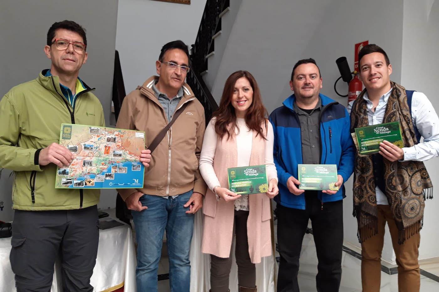 """Presentación de """"Itinerarios históricos por la provincia de Málaga"""""""
