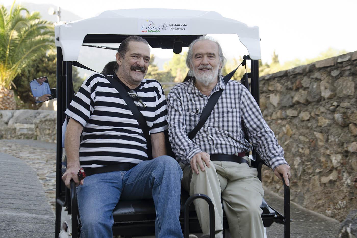 Javier y Gonzalo García Pelayo proyectaron su último trabajo en esta edición