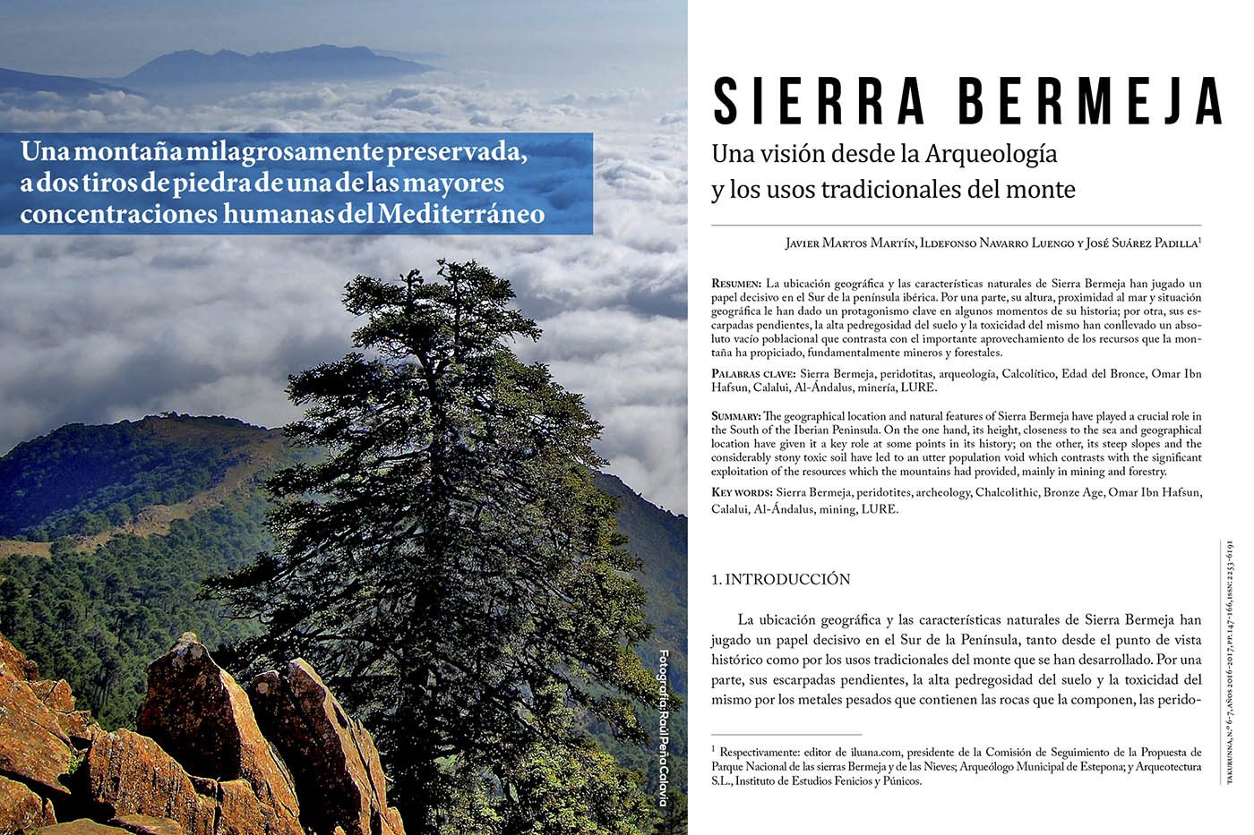 Sierra Bermeja. Una visión desde la arqueología y los usos tradicionales del monte