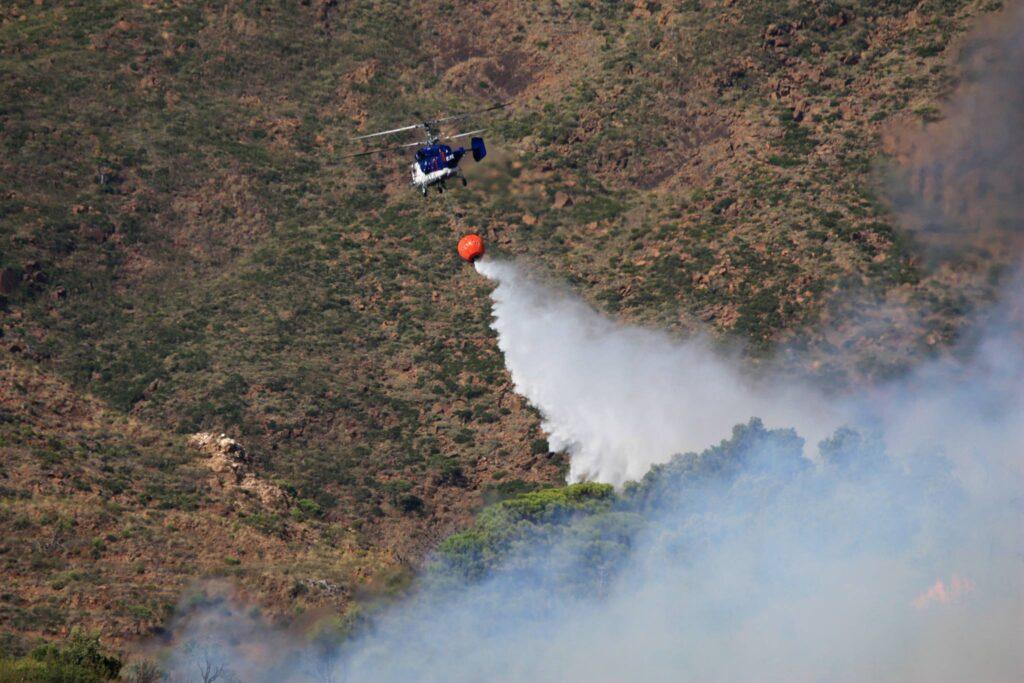 Incendio Los Álamos (Casares) 21/7/2018