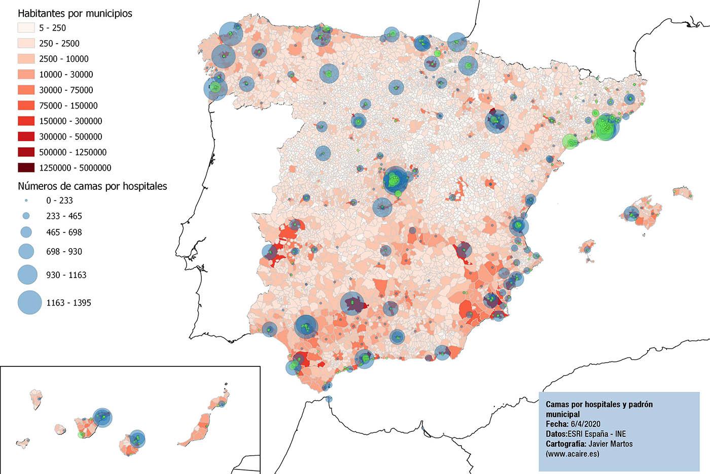 Hospitales de España 2019