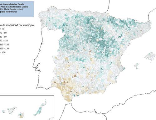 Covid19  (1/4/2020), camas hospitalarias y mortalidad en España