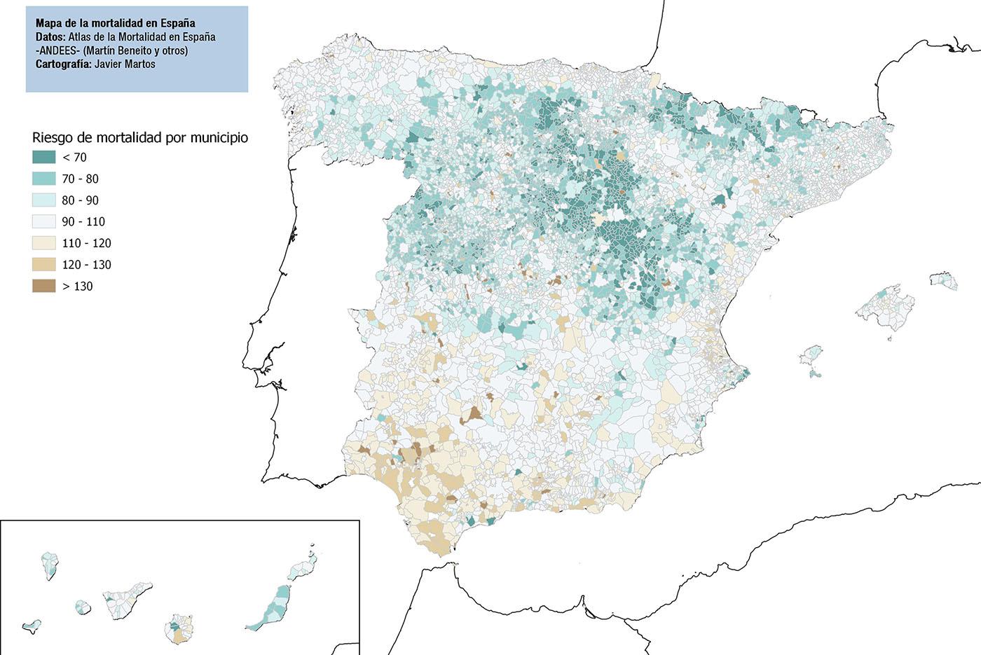 Atlas de la mortalidad en España