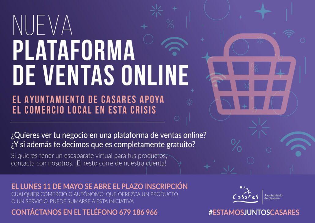 El Ayuntamiento de Casares apoya el sector empresarial durante la pandemia del Covid19