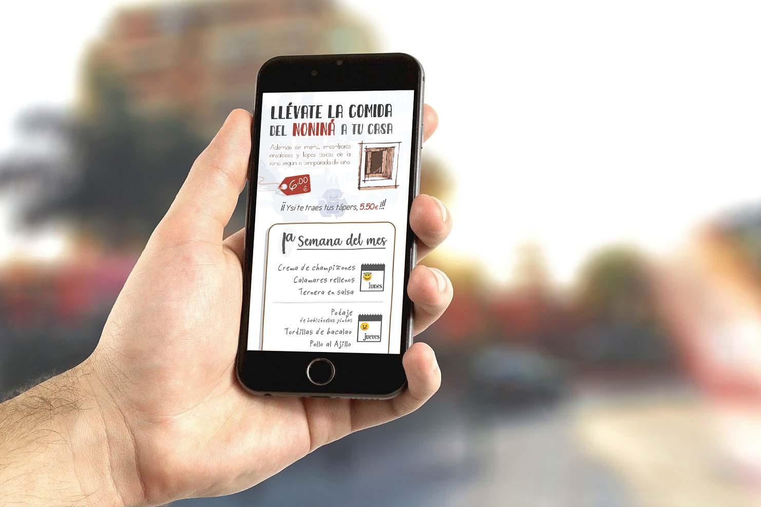 Digitalización de cartas de bares y restaurantes accesibles por Internet