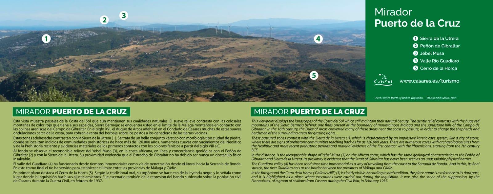 Mirador del Puerto de la Cruz (Casares)
