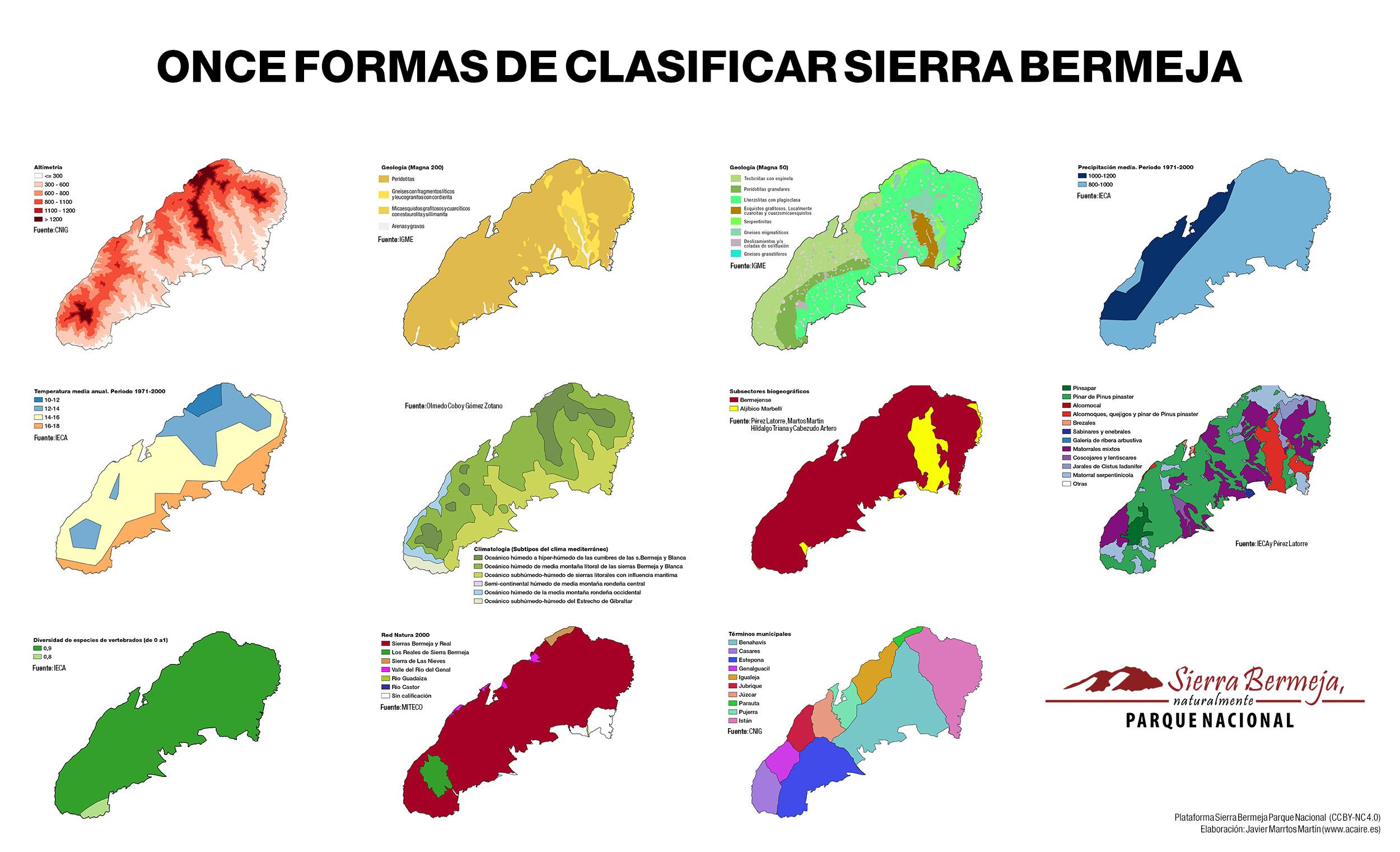 11 formas de mirar a Sierra Bermeja