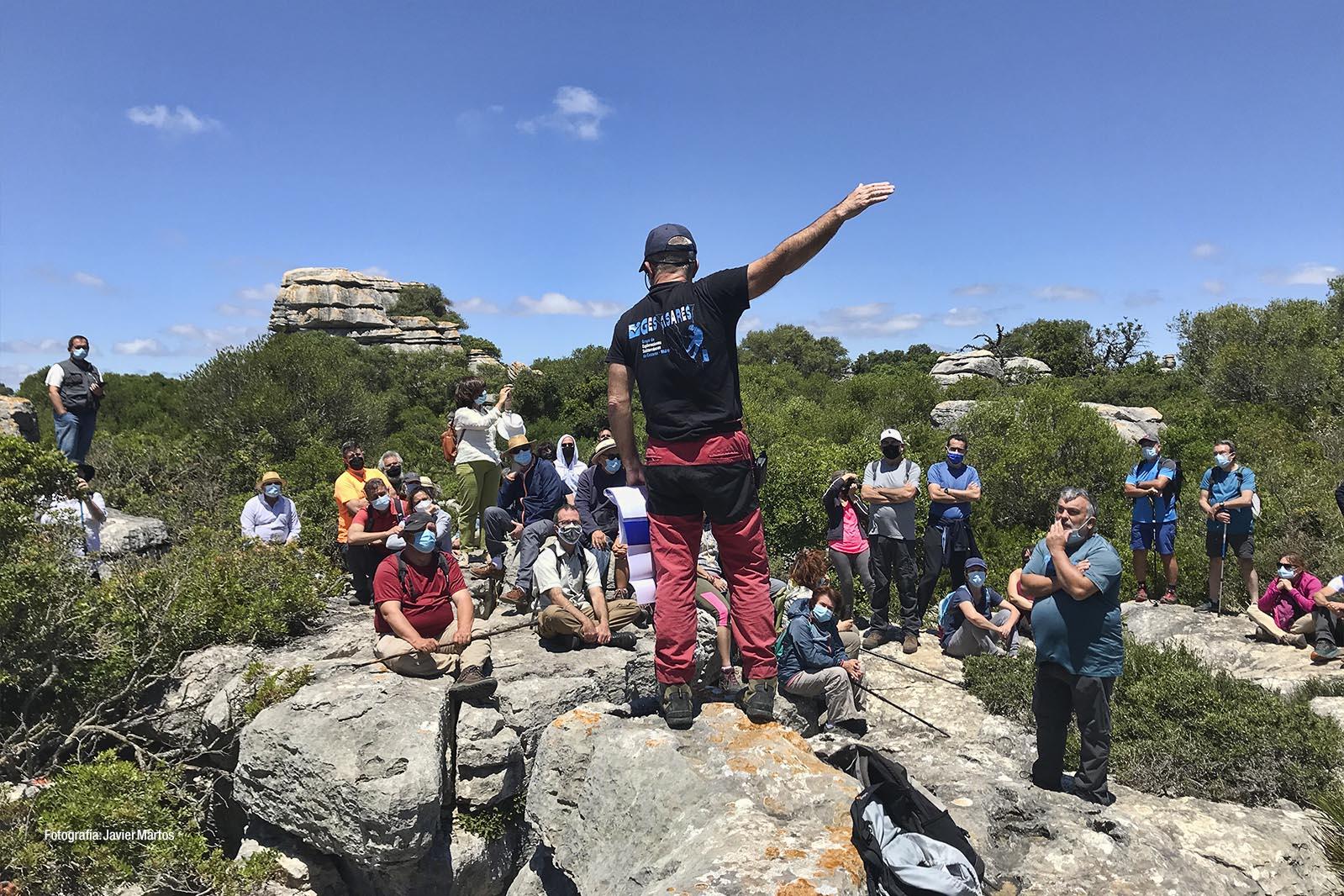 Jorge L. Romo en las Jornadas de Patrimonio de Casares 2021